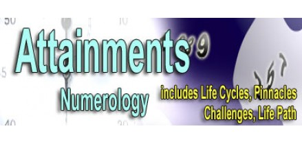 Attainments Numerology Reading