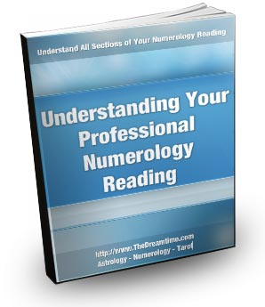 Understanding Your Professional Numerology Reading - book cover